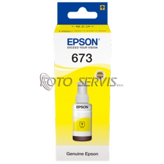 T6734 YELLOW INK BOTTLE 70ML